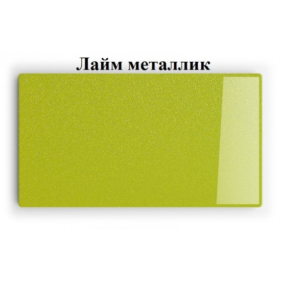 Купить Настенная полочка ex-006, Лайм металлик (80/33/14) на Mebli.Sale Недорого.