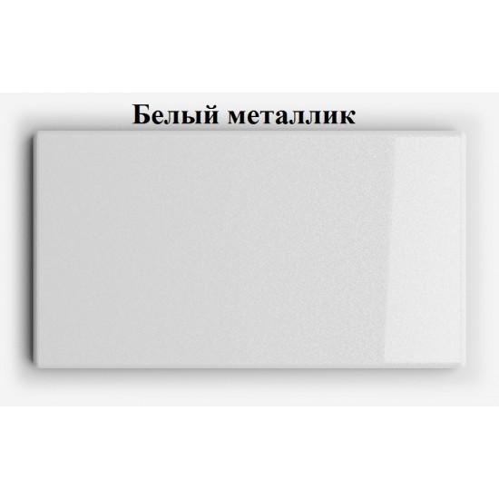 Купить Настенная полочка ex-006, Белый глянец, металлик (80/33/14) на Mebli.Sale Недорого.