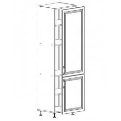 Шкаф 1 дверь + 1 дверь 600/2130/590 Болонья бежевая