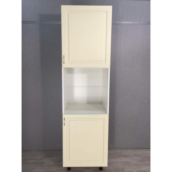 Купить Шкаф под духовку 2 двери (60/213/56) Болонья бежевый на Mebli.Sale Недорого.