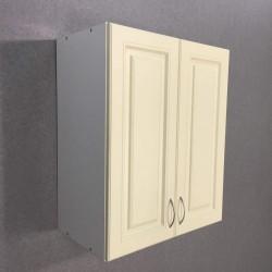 Шкаф верхний 2 двери 600/720/300 Болонья бежевая
