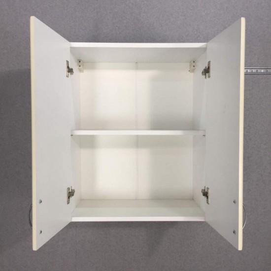 Шкаф верхний 2 двери 600/720/320 Болонья бежевая