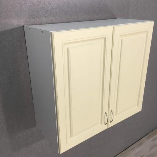Купить Шкаф верхний 2 двери (80/72/30) Болонья бежевая на Mebli.Sale Недорого.