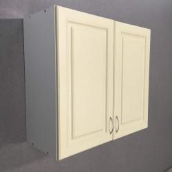 Шкаф верхний 2 двери (80/72/30) Болонья бежевая