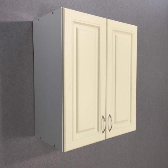 Купить Шкаф верхний с сушкой 2 двери (60/72/30) Болонья бежевая на Mebli.Sale Недорого.