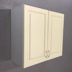 Шкаф верхний с сушкой 2 двери (80/72/30) Болонья бежевая