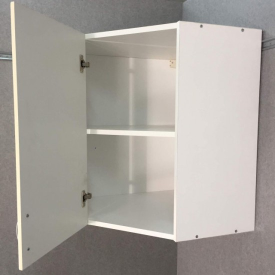 Шкаф верхний угловой 600/720/600 Болонья бежевая