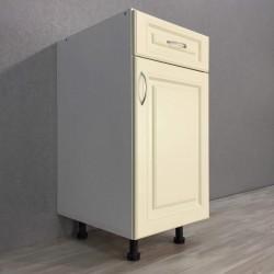 Тумба нижняя 1 ящик+1 дверь 400/820/470 Болонья бежевая