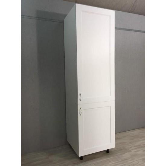 Купить Шкаф 1дверь + 1 дверь (60/213/56) Женева белая на Mebli.Sale Недорого.