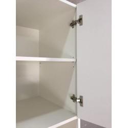 Шкаф под духовку 2 двери (60/213/56) Женева белая