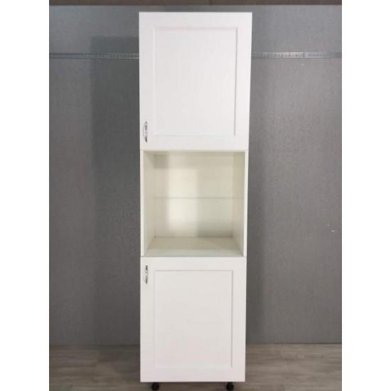Купить Шкаф под духовку 2 двери (60/213/56) Женева белая на Mebli.Sale Недорого.