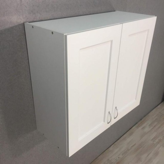 Купить Шкаф верхний 2 двери (60/72/30) Женева Белая на Mebli.Sale Недорого.