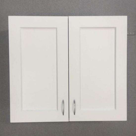 Купить Шкаф верхний 2 двери (80/72/30) Женева Белая на Mebli.Sale Недорого.