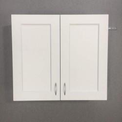 Шкаф верхний с сушкой 2 двери 800/720/300 Женева Белая