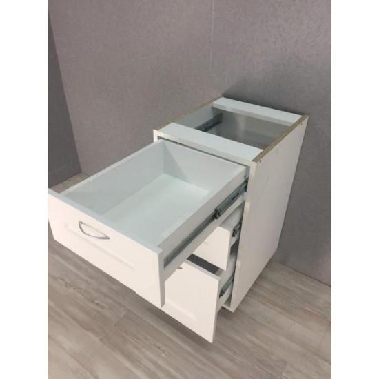 Купить Тумба нижняя 1 ящик+1 дверь (40/82/47) Женева Белая на Mebli.Sale Недорого.