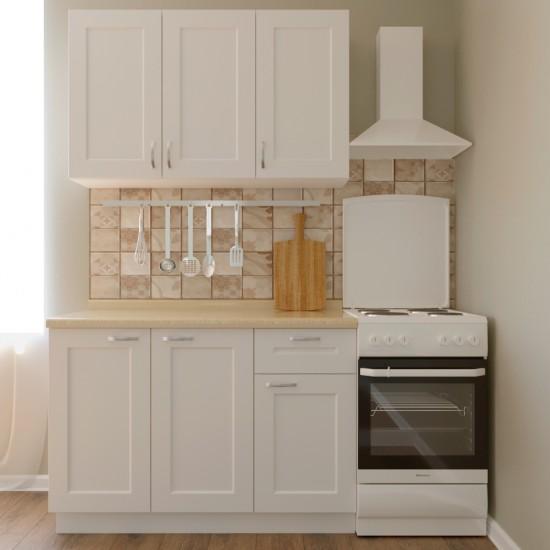 Купить Кухня Женева, белая 1,2 м (DiPortes ™️) на Mebli.Sale Недорого.