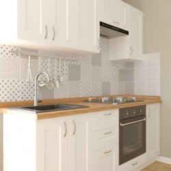 Кухня Женева, белая 2 м (DiPortes ™️)