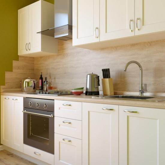 Купить Кухня Женева, белая 2.4 м (DiPortes ™️) на Mebli.Sale Недорого.