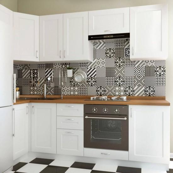 Купить Кухня угловая Женева, белая 1x2.5 м (DiPortes ™️) на Mebli.Sale Недорого.