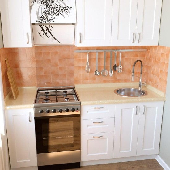 Купить Кухня Женева, белая 1.8 м (DiPortes ™️) на Mebli.Sale Недорого.