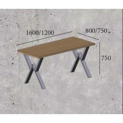 Стол обеденный «ВИННЕР»  (1600)