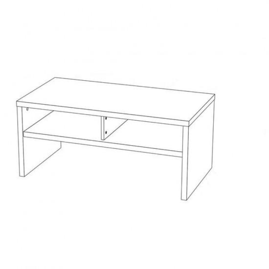 """Купить Журнальный стол """"Марсель 1"""", Белый  (110/ 45/ 50) на Mebli.Sale Недорого."""