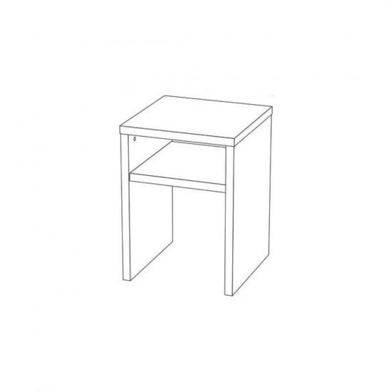 """Купить Журнальный стол """"Марсель 3"""", Белый (40/61/40) на Mebli.Sale Недорого."""