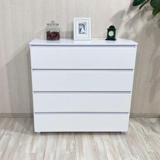 """Купить Комод """"Монови"""" К-40, Белый (100/99/40), МДФ на Mebli.Sale Недорого."""