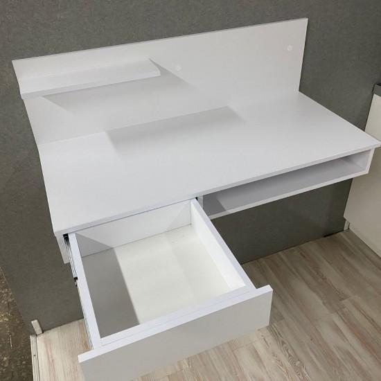 """Купить Компьютерный стол навесной """"Капри"""", кт-313-1, белый (100/45/44) на Mebli.Sale Недорого."""