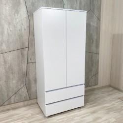 """Шкаф """"Капри"""", К-844, белый  (80/183/56)"""