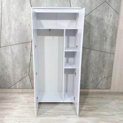 """Шкаф """"Капри"""", К-843, белый  (80/183/56)"""