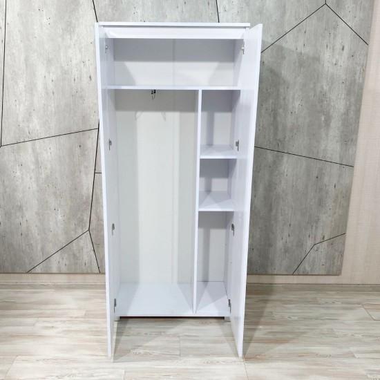 """Купить Шкаф """"Капри"""", К-843, белый  (80/183/56) на Mebli.Sale Недорого."""