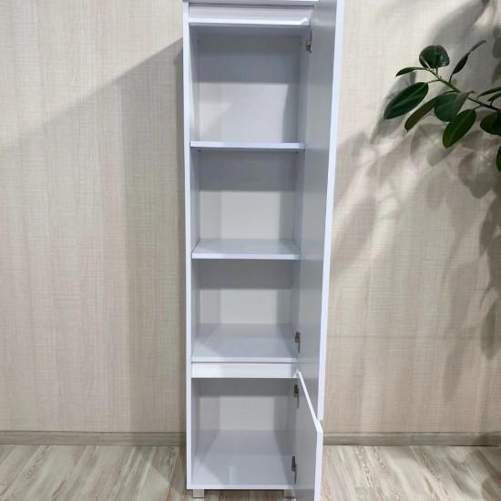"""Купить Пенал """"Капри"""", К-742, белый  (40/163/40) на Mebli.Sale Недорого."""