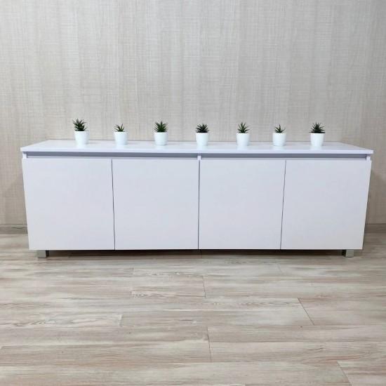 """Купить Тумба """"Капри"""", К-209, белый (160/53/40) на Mebli.Sale Недорого."""