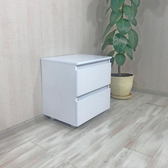 Купить Тумба DiPortes  Kt-101 без ручек, Белая (50/55/40) на Mebli.Sale Недорого.