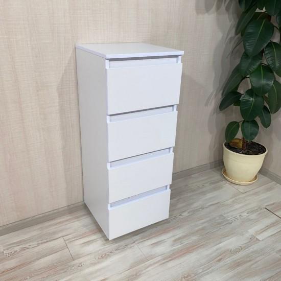 Купить Комод DiPortes Kt-105 без ручек, Белый (40/104/40) на Mebli.Sale Недорого.
