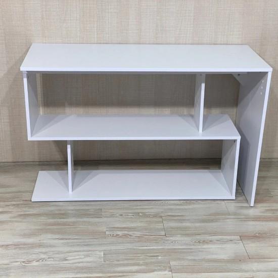 Купить Стол письменный поворотный Bt-314, белый (120/76,6/50) на Mebli.Sale Недорого.