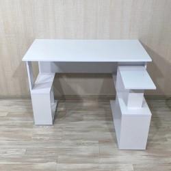 Стол письменный угловой Bt-315, белый (120/71/60)