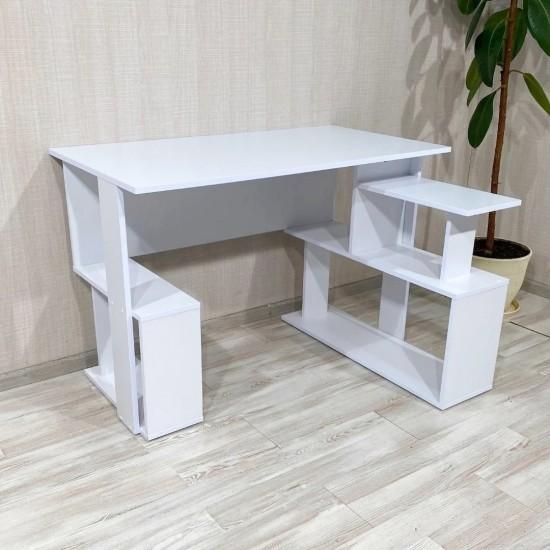 Купить Стол письменный угловой Bt-315, белый (110/74/60) на Mebli.Sale Недорого.