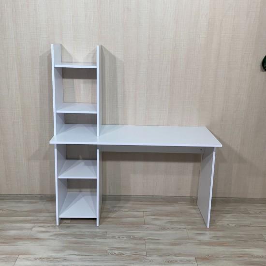 Купить Письменный стол Вт-320, белый (130/78/48) на Mebli.Sale Недорого.