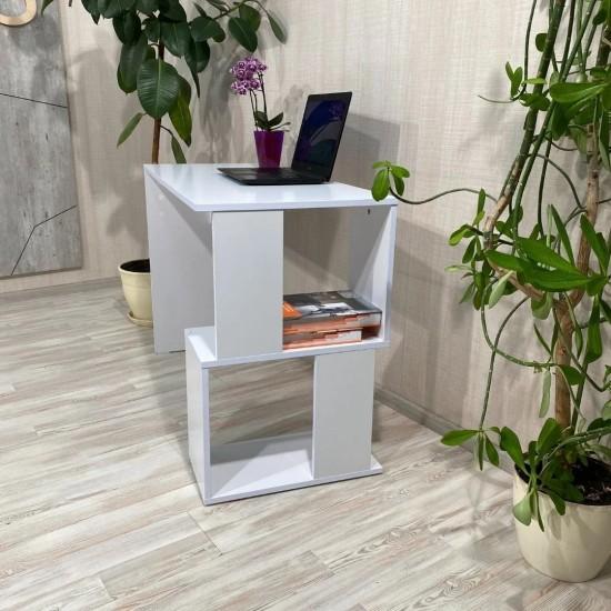 Купить Письменный стол Вт-321, белый (110/76/50) на Mebli.Sale Недорого.