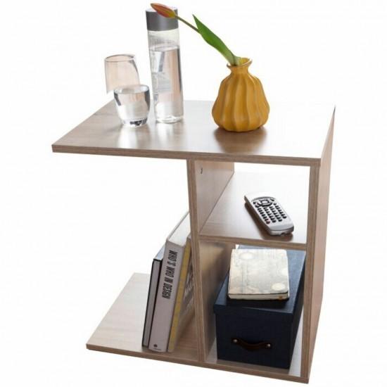 Купить Миниатюрный диванный столик DiPortes Вt-330, Дуб Сонома (50/59,1/30) на Mebli.Sale Недорого.