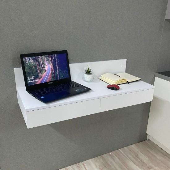 Купить Компьютерный стол навесной Вт-351, белый (100/27/40) на Mebli.Sale Недорого.
