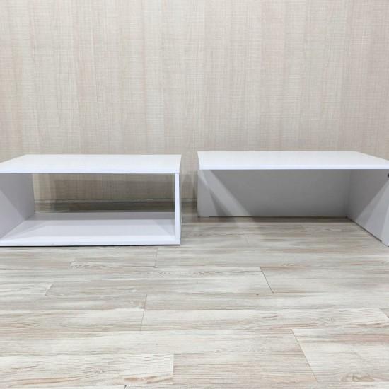 """Купить Журнальный стол """"Дуо 2"""" Вт-332, Белый  (75/ 32/ 43) на Mebli.Sale Недорого."""