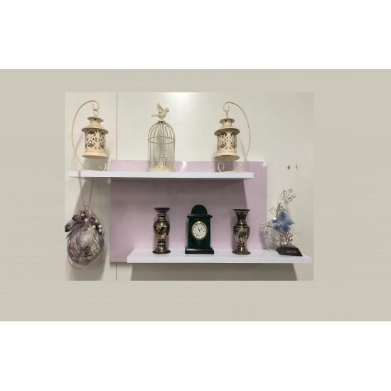 Купить Настенная полочка ex-005, Розовый металлик на Mebli.Sale Недорого.