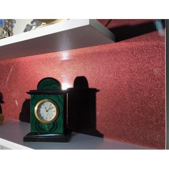 Купить Настенная полочка ex-006, Бордо металлик (80/33/14) на Mebli.Sale Недорого.