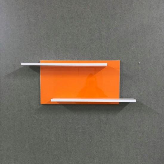 Купить Настенная полочка ex-004, Оранж глянец (60/33/14) на Mebli.Sale Недорого.