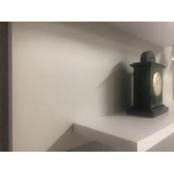 Настенная полочка ex-006, Серый матовый (светлый) (80/33/14)