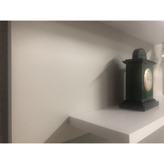 Купить Настенная полочка ex-006, Серый матовый (светлый) (80/33/14) на Mebli.Sale Недорого.