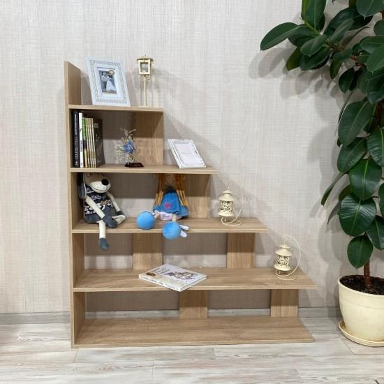 Купить Стеллаж DiPortes Вt-224, Дуб сонома (116/130/26) на Mebli.Sale Недорого.